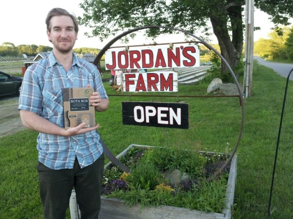 Jordan, at Jordan's Farm! Cape Elizabeth, ME.
