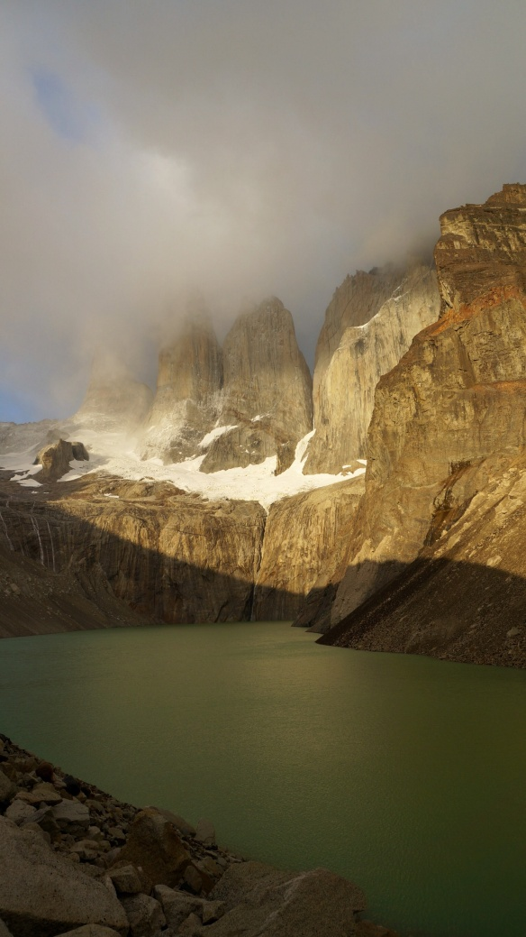 The infamous Torres of Torres Del Paine!