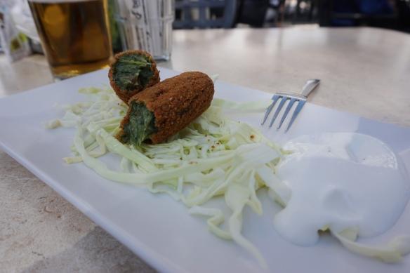 Bar Aliatar Los Carracoles: Croquettas de verduras